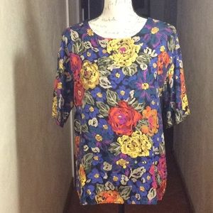Tops - Vintage floral top cotton